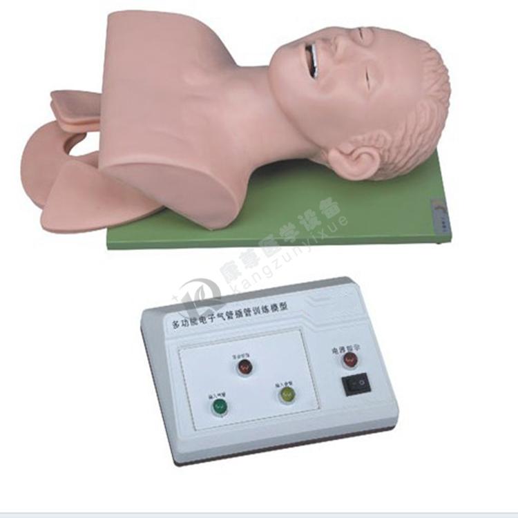 电子人体气管插管训练模型(带牙齿受压报警)