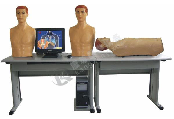 (网络版)智能化心肺检查和腹部检查教学系统(学生实验机)