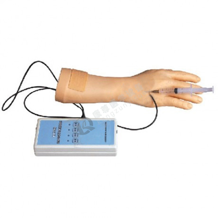高级电子手臂静脉穿刺训练模型(报警装置)