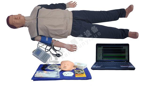 高级全功能急救训练模拟人(心肺复苏与血压测量功能)