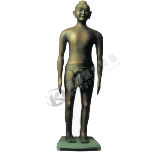 高166cm 仿古针灸铜人