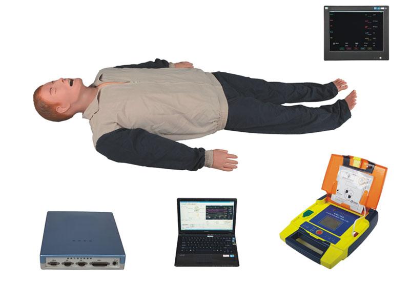 高智能数字化综合急救技能训练系统(ACLS高级生命支持、计算机控制)